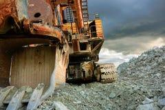 Excavador eléctrico Foto de archivo