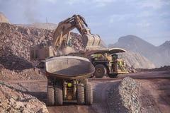Excavador enorme mining Imagen de archivo