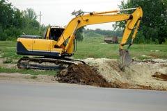 Excavador Heavy Equipment Imagen de archivo