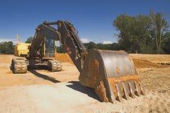 Excavador industrial fotografía de archivo