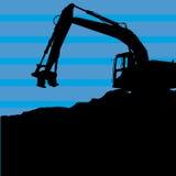 Excavador pesado Fotografía de archivo libre de regalías