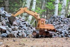 Excavador pesado del equipo Fotografía de archivo libre de regalías