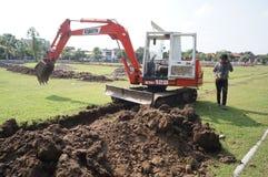excavadores Foto de archivo