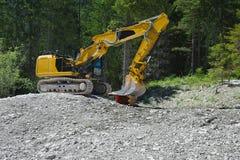 Excavaror Stock Image