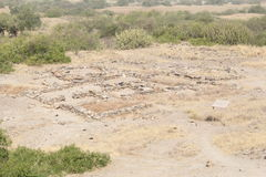 Excavated Harappa Civilization Royalty Free Stock Photography