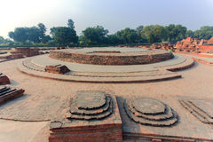 Free Excavated Remains Of Apsidal Chaitya Royalty Free Stock Photography - 77997857