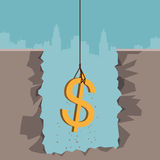 Excavating Dollar Stock Images