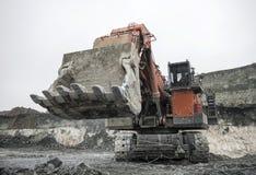 excavation Photographie stock libre de droits