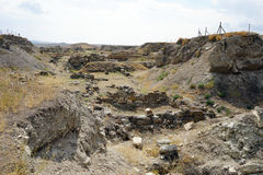 Excavation royalty free stock image