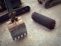 Excavation backhoe loader Stock Photography