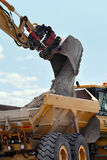 Excavation & Dump vehicle Stock Image