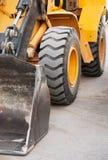 Excavation equipment. Excavator close-up Royalty Free Stock Photos