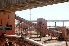 Excavation metal outdoor mine Riotinto Stock Photo