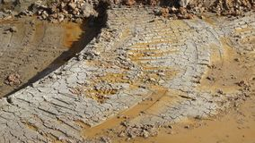 Excavation soil for building apartment building. At thailand stock photo