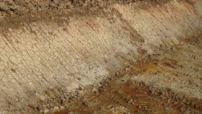 Excavation soil for building apartment building. At thailand royalty free stock image