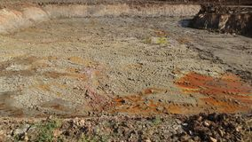 Excavation soil for building apartment building. At thailand royalty free stock photos
