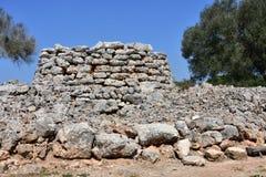 Excavation village Capocorb Vell. Island Mallorca Royalty Free Stock Photos