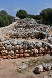 Excavation village Capocorb Vell. Island Mallorca Royalty Free Stock Photo