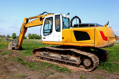 Excavation work Royalty Free Stock Photos
