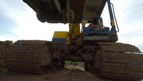 Excavation work Royalty Free Stock Image