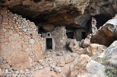 Excavations. On greek island karpathos Stock Images