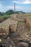 Excavations of the ancient city in Kerch Stock Images