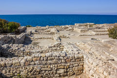 Excavations of the ancient city Stock Photos