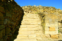 Excavations of the ancient city Stock Images