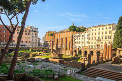 Excavations of Ancient Rome Royalty Free Stock Photos