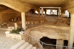 Excavations of ancient settlements Stock Photography