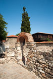Excavations in the ancient of Sozopol in Bulgaria Royalty Free Stock Image