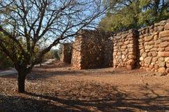 Excavations d'archéologie Photographie stock