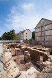 Excavations, Frankfurt (Oder) Stock Photo