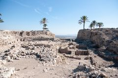 Excavations in Israel Royalty Free Stock Photography
