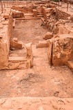 Excavations of Malia palace Royalty Free Stock Image