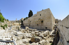Excavations near Western Wall in Jerusalem, Stock Photography