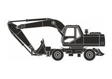 excavator ilustração do vetor