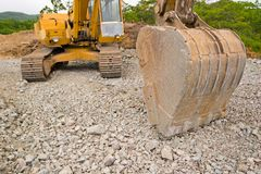 Excavator. Stock Images