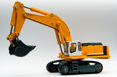 Excavator. This excavator is a very sophisticated toys Stock Image