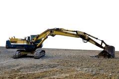The excavator Stock Photo