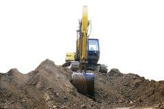 The excavator Royalty Free Stock Photos