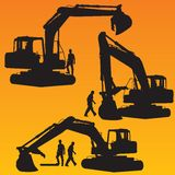 Excavator. Royalty Free Stock Photos