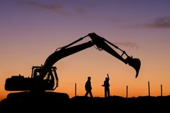 Free Excavator Royalty Free Stock Photo - 17220825