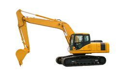 Free Excavator Royalty Free Stock Photography - 18456037