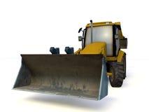Excavator. Isolated on white background stock illustration