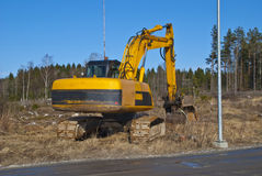 Excavator. Royalty Free Stock Images