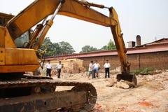 Excavator Stock Photo