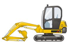 Excavator Royalty Free Stock Photography