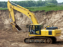 The excavator Stock Photography