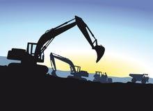 excavator Imagens de Stock